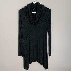 Sweaters - NWT Gray Turtleneck Scoop neck Sweater Dress